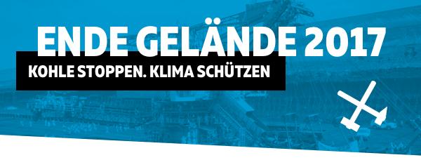 Ende Gelände 2017 - Kohlegruben mit Protest fluten statt Inseln versenken!
